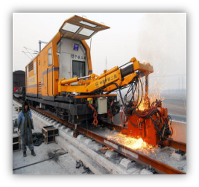 CWR (Continuous Welded Rail)