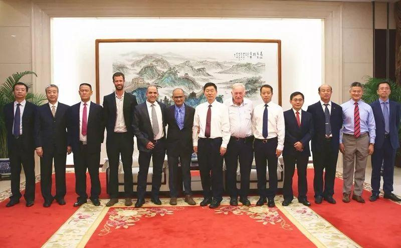 CREC Chairman ZHANG Zongyan Meets with Acting CEO of NTA